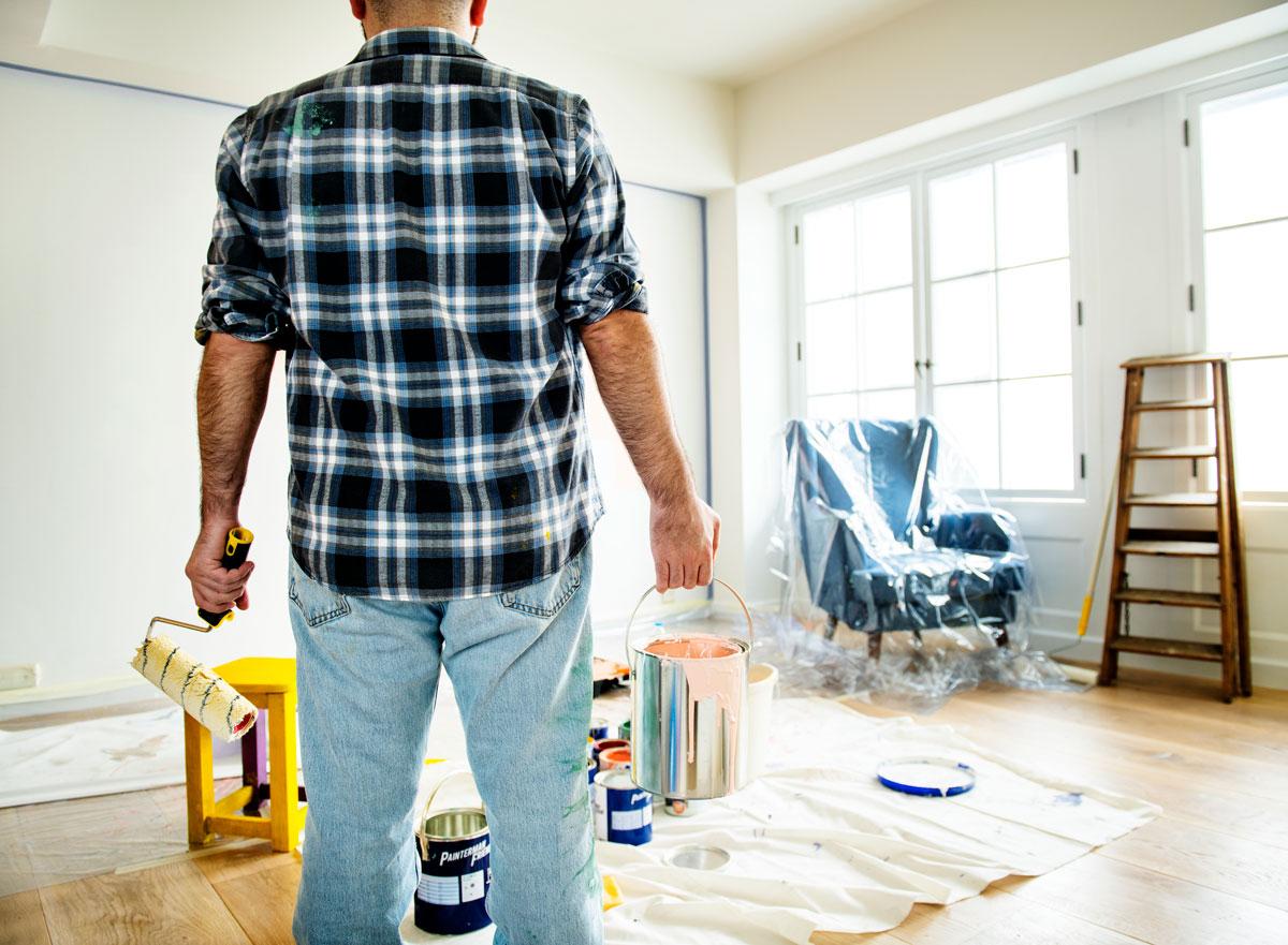 Trucos y consejos para pintar el salón de tu casa