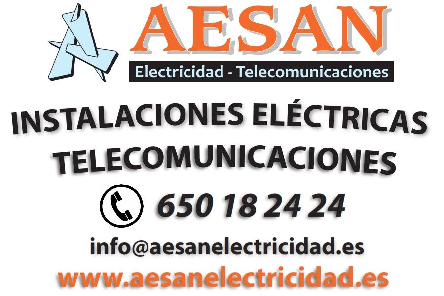 Llamar a Aesan Electricidad Telecomunicaciones